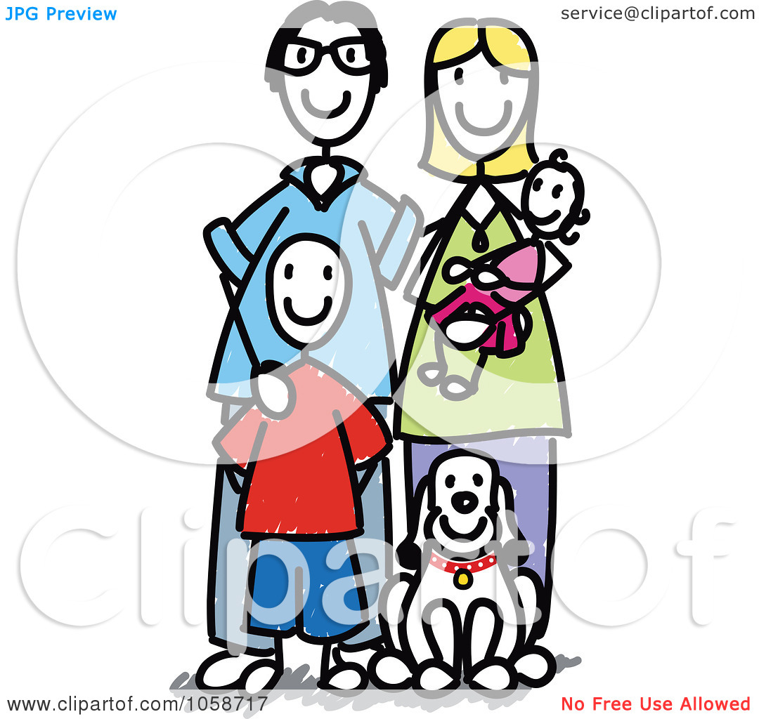 Stick Figure Family Images Stock Photos amp Vectors