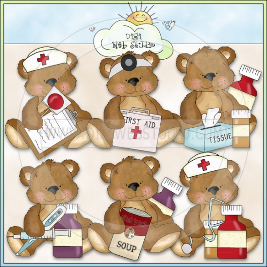 Wallpapers Get Well Soon Teddy Bear Clipart