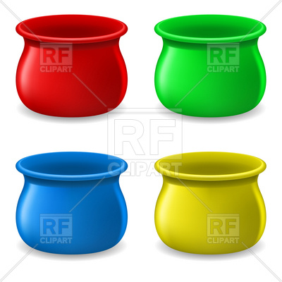 Clipart Catalog Objects Empty Pot Download Royalty Free Vector Clipart
