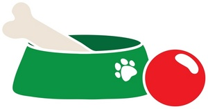 Dog Bowl Illustrations And Clipart   Free Clip Art Images