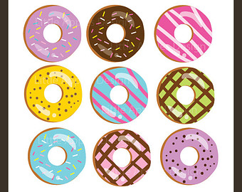 Donuts Clipart - All About Clipart