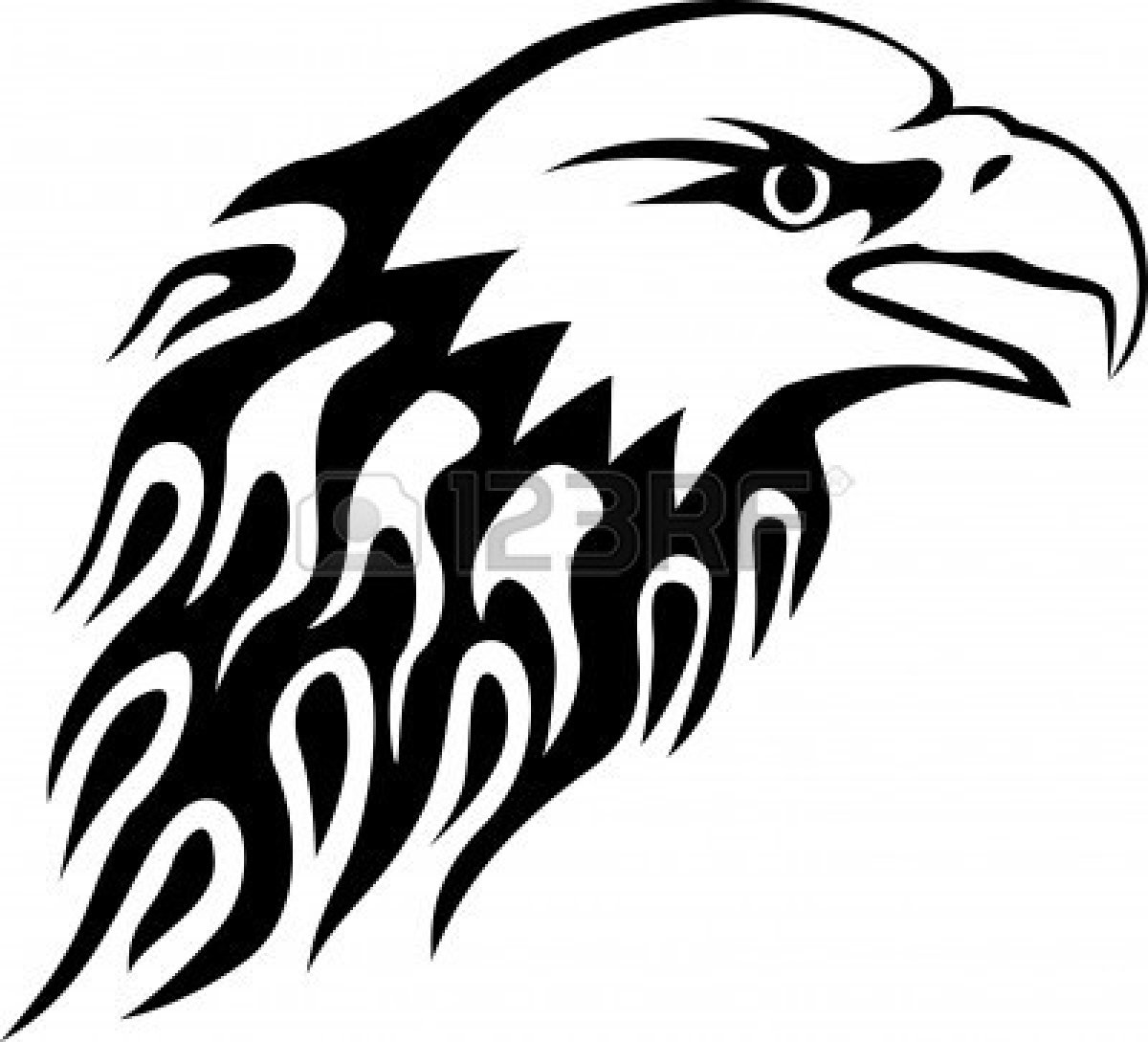 Eagle Clip Art Black And White   Clipart Panda   Free Clipart Images