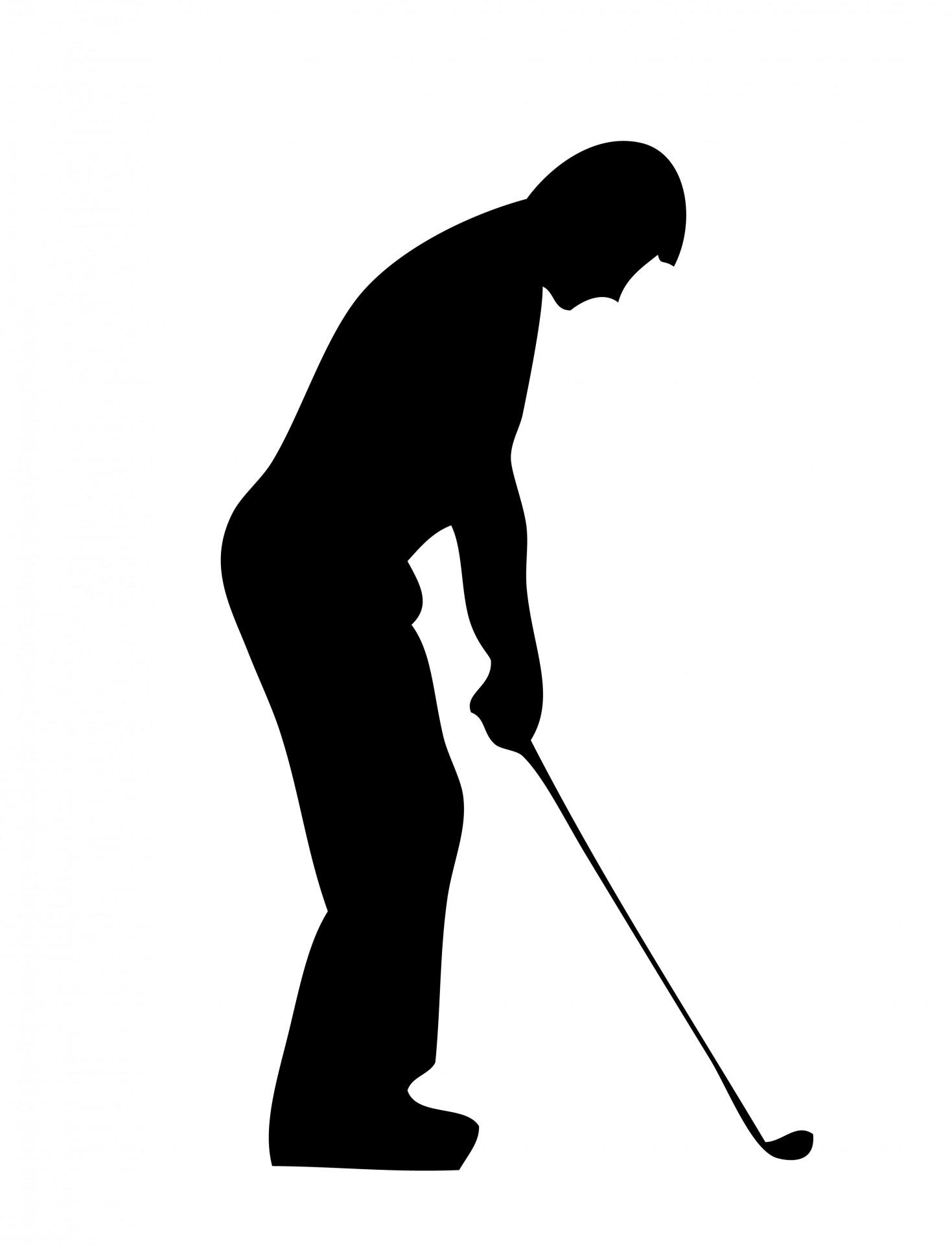 Golf Silhouette Clipar...