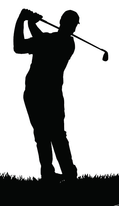 Golf Silhouette Clipart - Clipart Kid