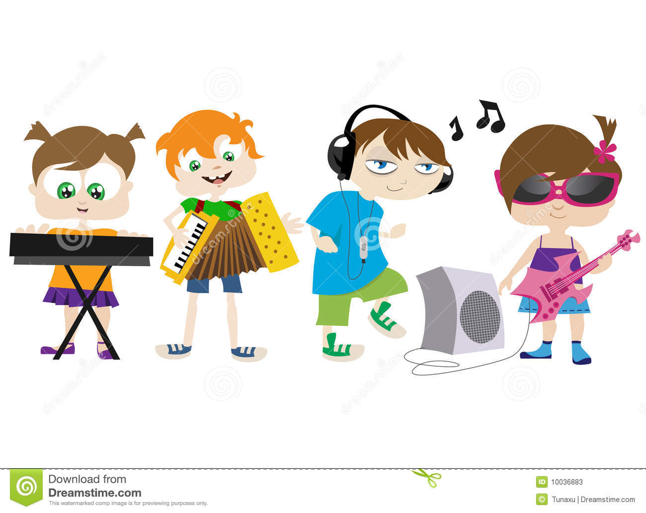 Group Playing Instruments Clipart - Clipart Kid
