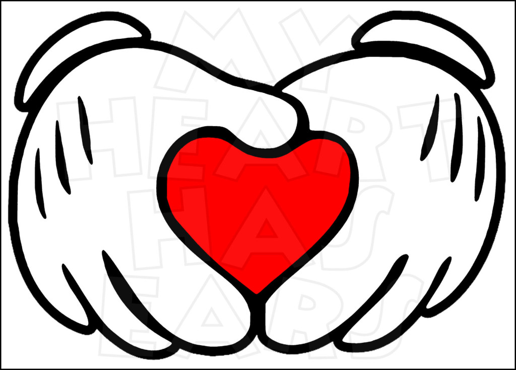 Mickey Mouse Hands Clipart - Clipart Suggest