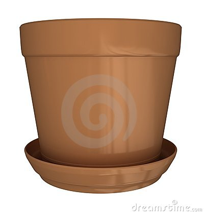 More Similar Stock Images Of   Empty Flower Pot