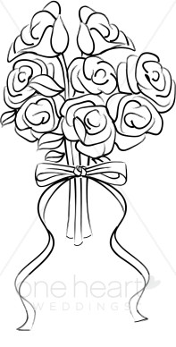 Rose Bouquet Clipart   Rose Clipart