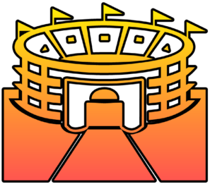 Stadium Cutout Clip Art At Clker Com   Vector Clip Art Online Royalty