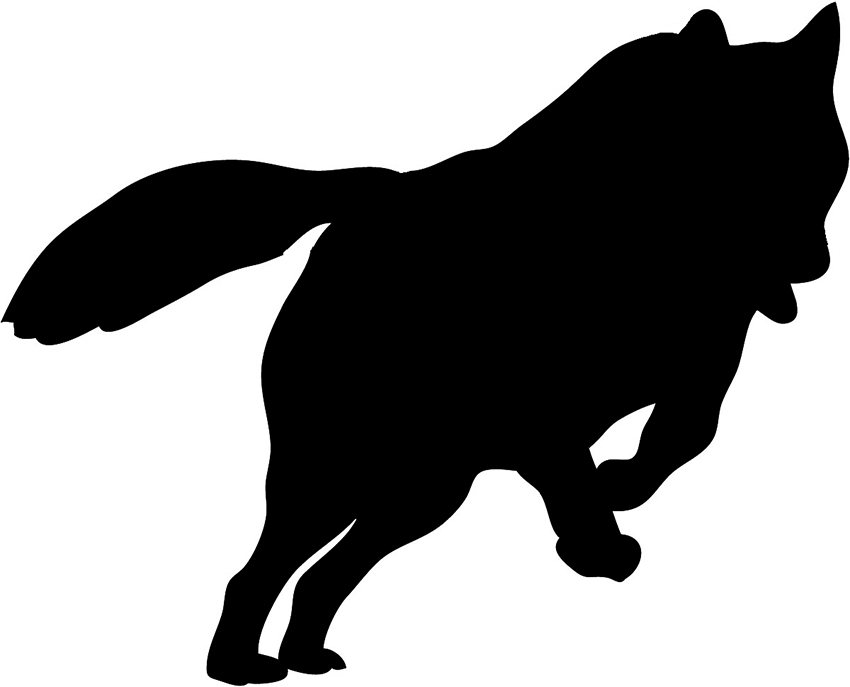 Wolf Silhouette Clip Art