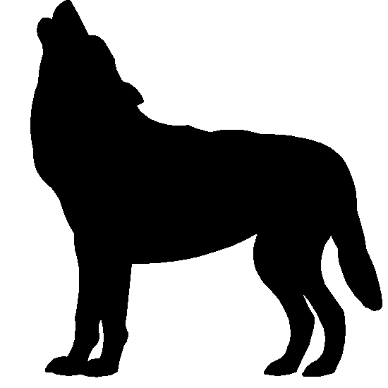 Wolf Silhouette   Clipart Best