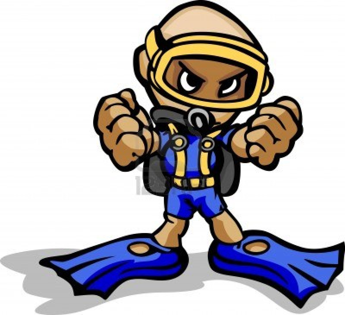 10 Cartoon Scuba Divers Free Cliparts That You Can Download To You