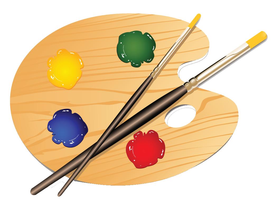 Art Palette Clip Art   Clipart Panda   Free Clipart Images