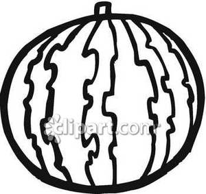 Black And White Watermelon Clipart Clipart Black And White