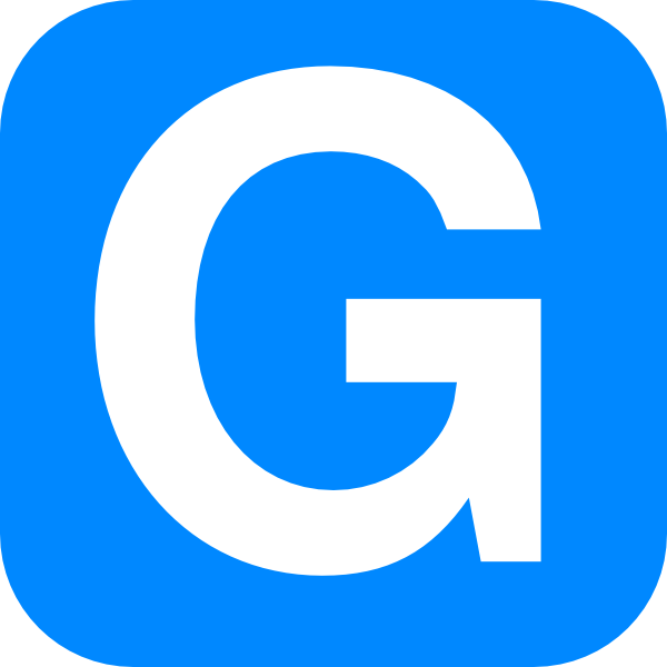 Blue Alphabet G G Letter Clip Art At Clker Com Vector Clip Art