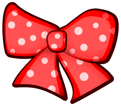 Polka Dot Bow Clipart - Clipart Kid