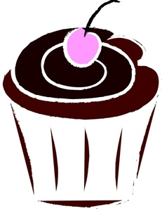 Chocolate Cupcake Clipart Cupcake Clipart Image