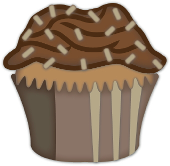 Chocolate Cupcakes Clipart Chocolate Cupcake Clip Art