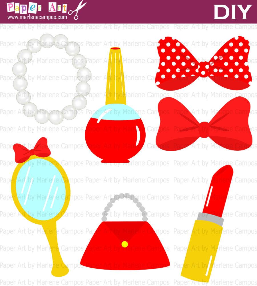 Minnie Mouse Skirt Clipart - Clipart Kid