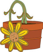 Dying Plant Clipart Dead Flower Graphic Pictures