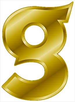 Free Gold Letter G  Clipart   Free Clipart Graphics Images And Photos