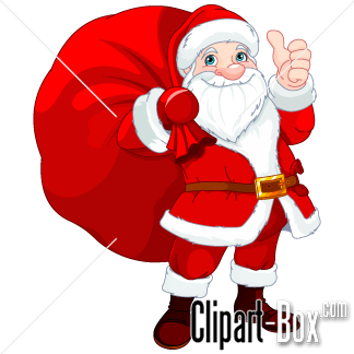 Related Santa Claus With Bag Cliparts