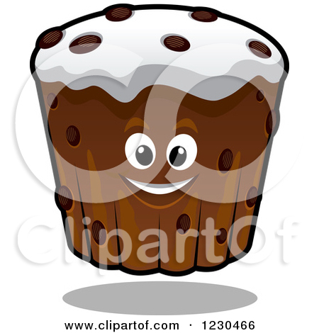 Royalty Free  Rf  Chocolate Cupcake Clipart   Illustrations  1