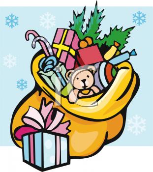 Christmas toys clip art