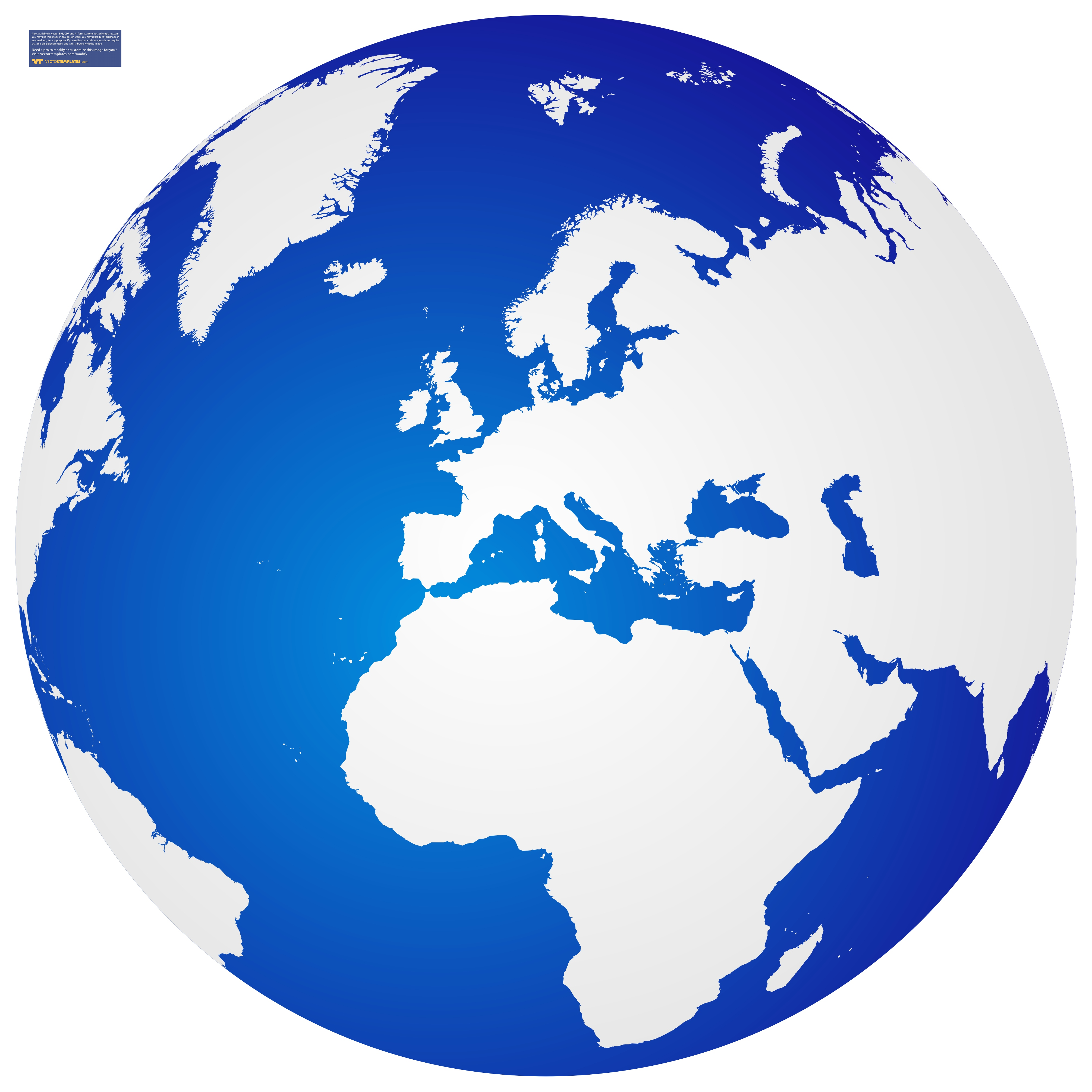 World Globe Clipart - Synkee
