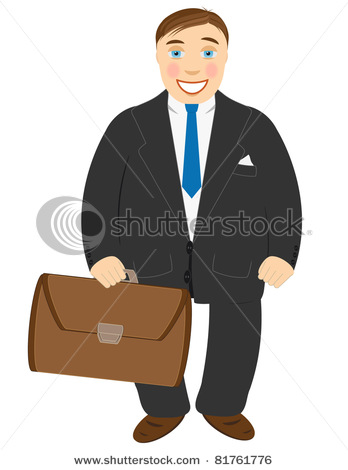 Suit And Tie Clipart  1