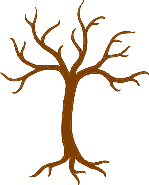 Tree Trunk And Branches Clip Art At Clker Com   Vector Clip Art Online
