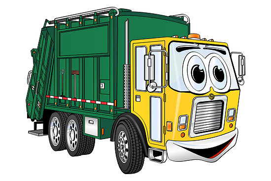 Truck Cartoon By Graphxpro   Redbubble   Clipart Best   Clipart Best