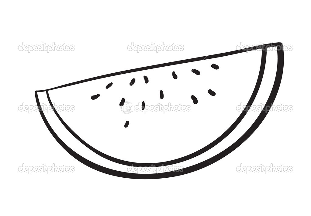 Water Melon Slice   Stock   Clipart Panda   Free Clipart Images