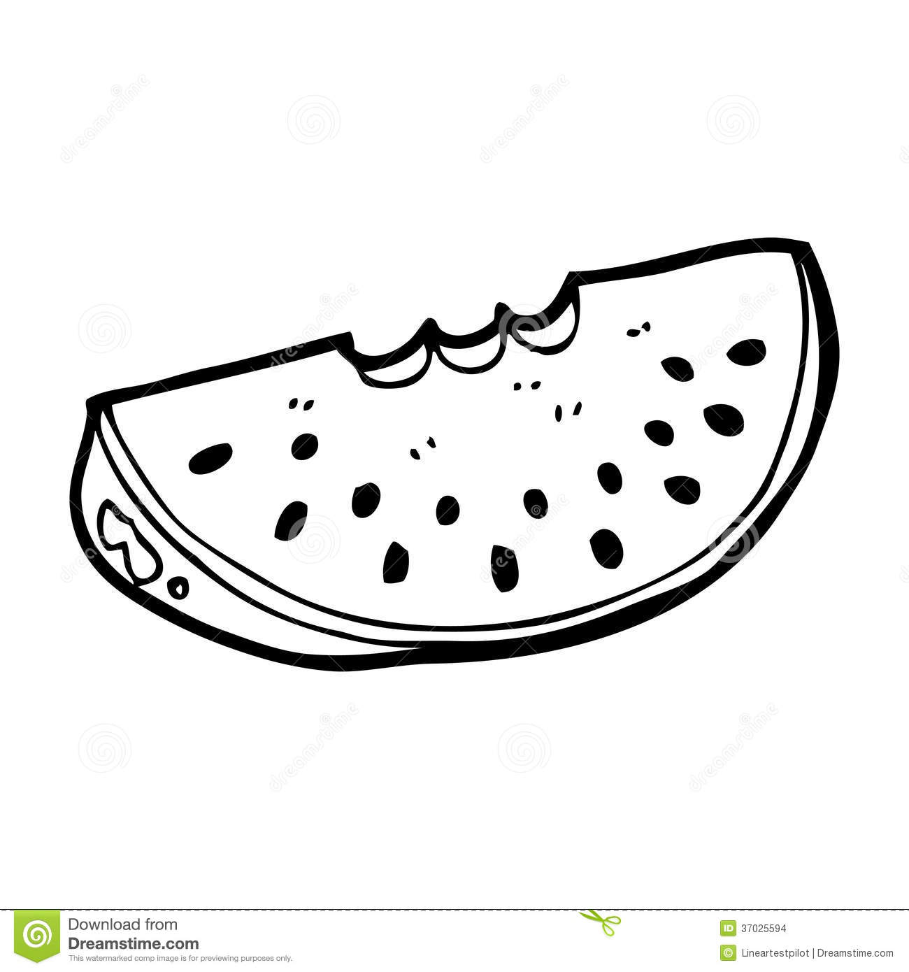 Watermelon Slice Black And White Images   Pictures   Becuo