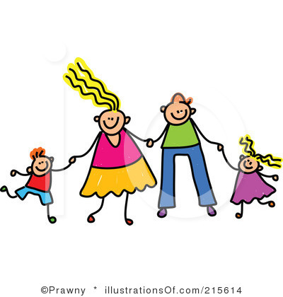 Family Watching Movie Clipart - Clipart Kid