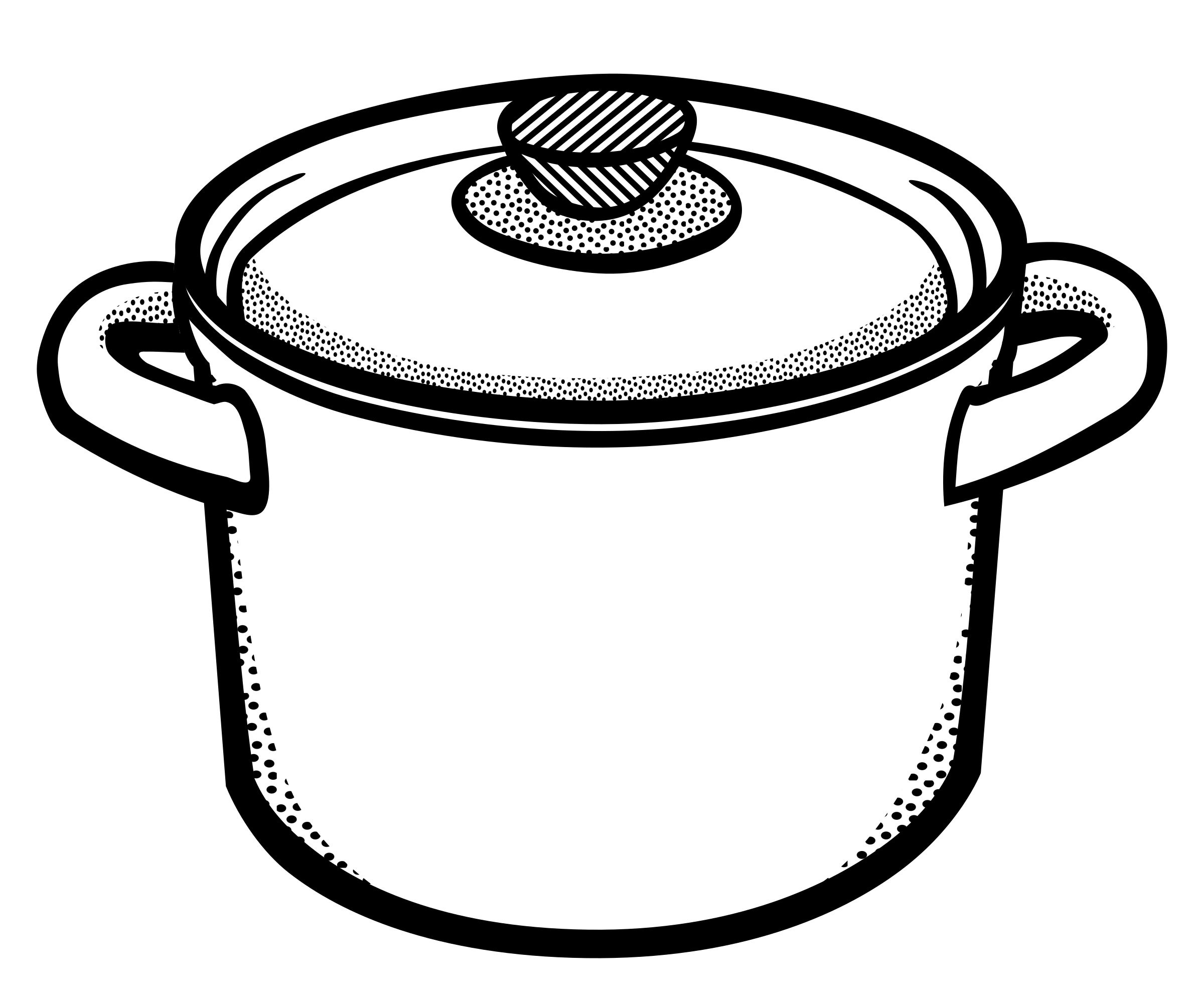 Cooking Pot   Lineart By Frankes