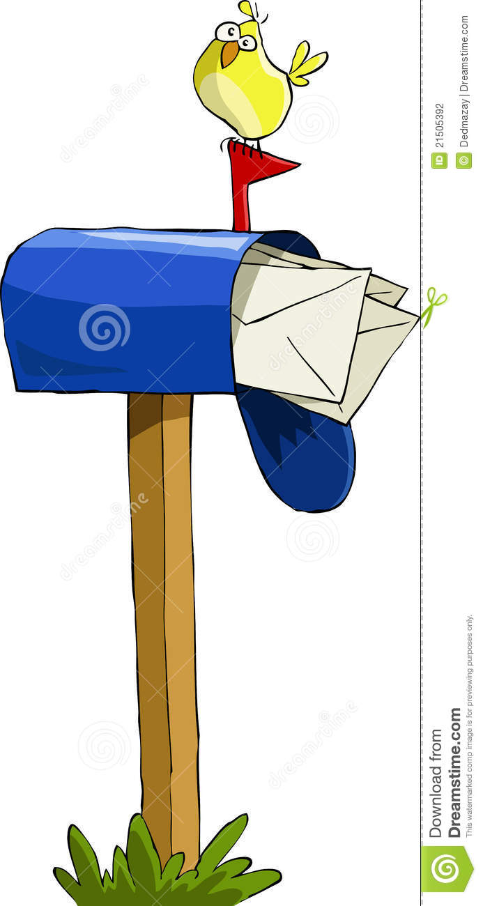Cute Mailbox Clipart Mailbox On A White Background