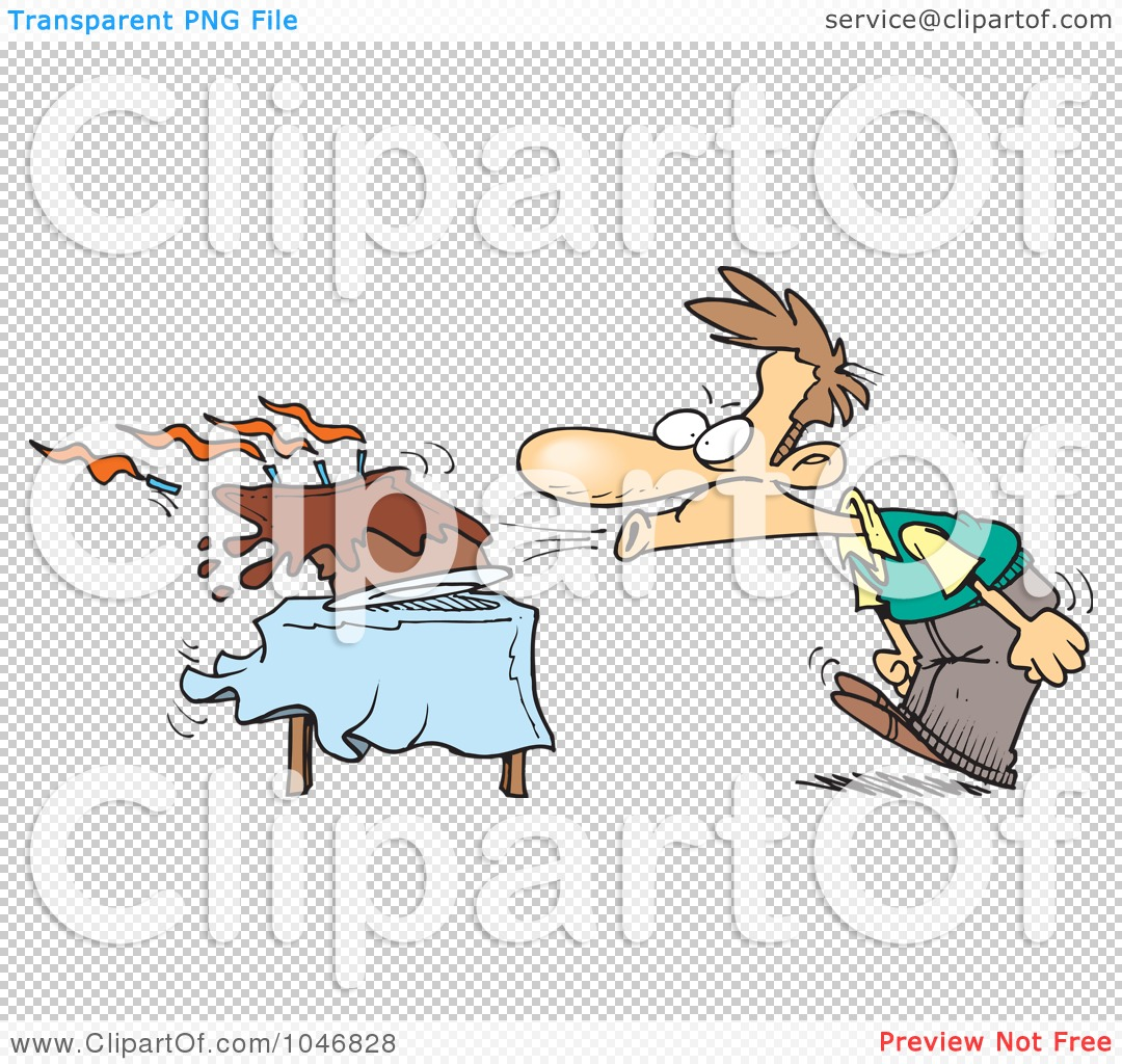 Funny Male Happy Animated Birthday Clip Art Free Royalty Free Rf Clip