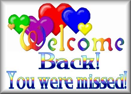 Resultado de imagen para happy welcome back