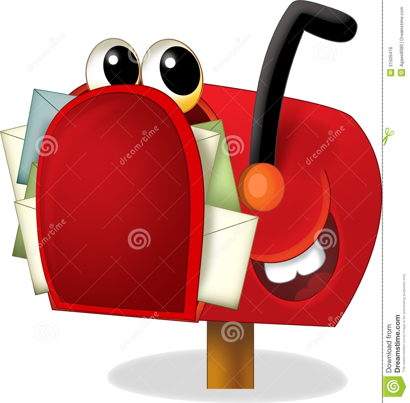 image gallery inbox clip art cartoons