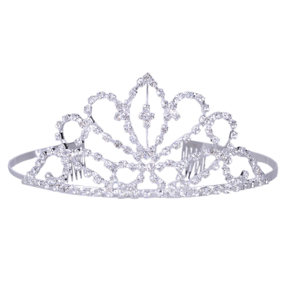 Silver Tiara Clipart - Clipart Suggest