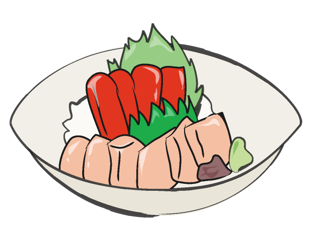 Of Raw Fish   Royalty Free Illustrations   Food Graphics   Downloads
