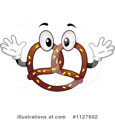 Pretzel Clipart  1127602 By Bnp Design Studio   Royalty Free  Rf
