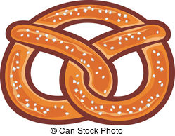 Pretzel Illustrations And Clip Art  1733 Pretzel Royalty Free