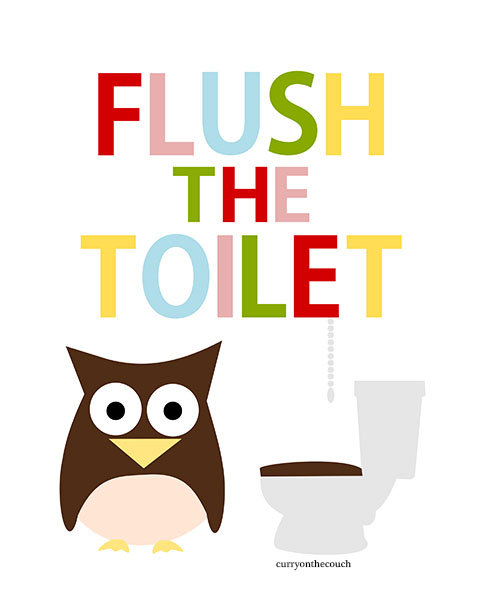 Flush Toilet Clipart - Clipart Kid