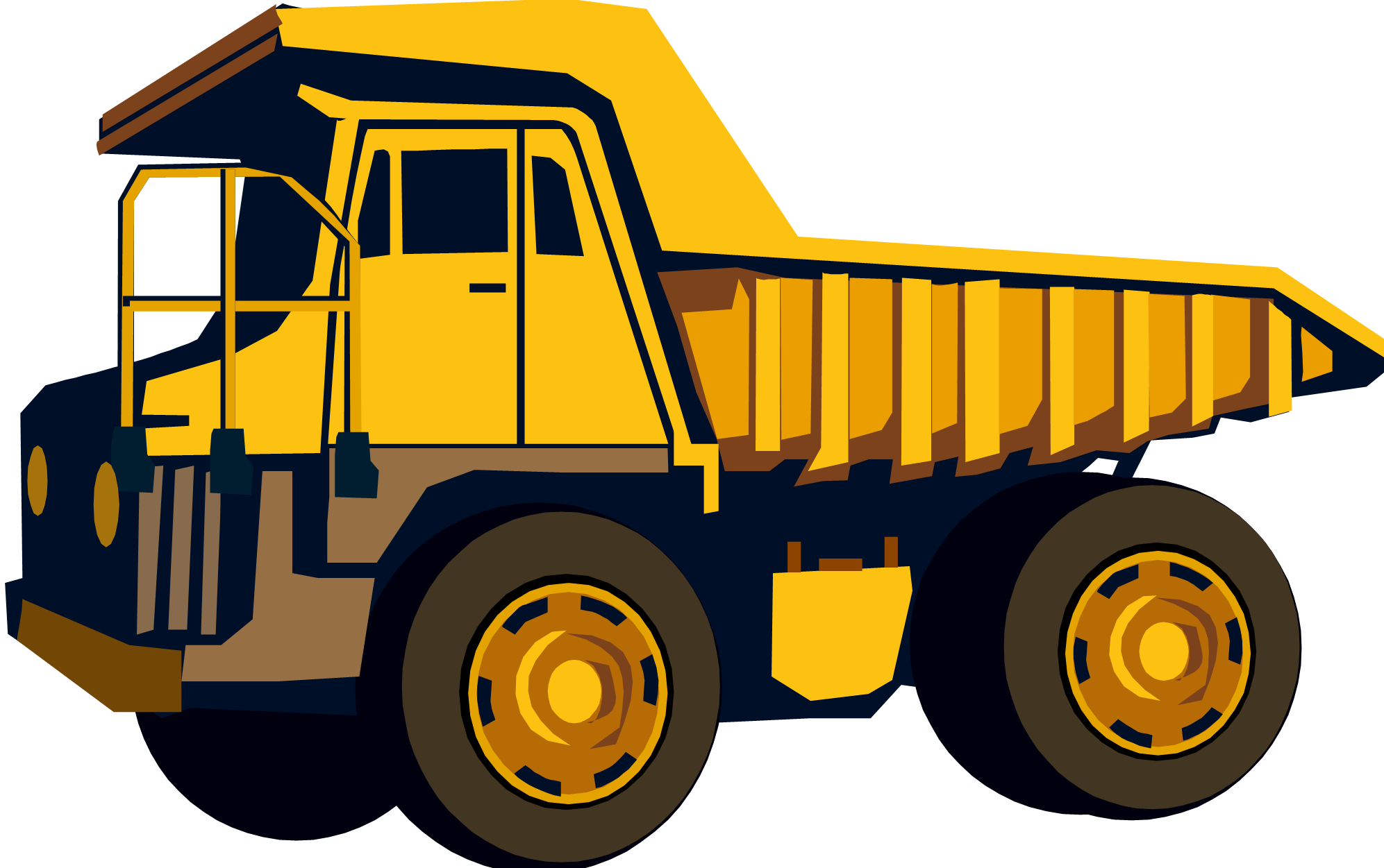 Clip Art Dump Truck Clip Art dump truck cartoon clipart kid truckload of birthday fun