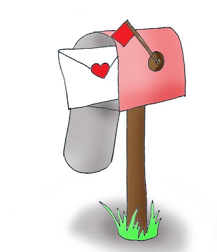 Valentine Mailbox Clip Art