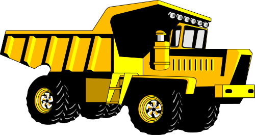Clip Art Dump Truck Clip Art dump truck cartoon clipart kid wpclipart com working vehicles png html