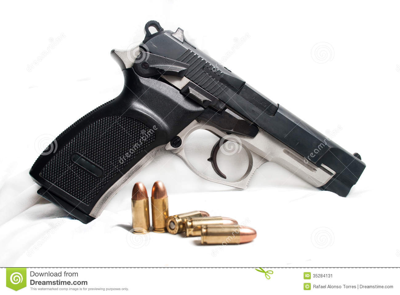 9mm Pistol Stock Image   Image  35284131