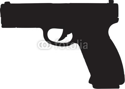 Clip Art Guns Clipart 9mm pistol clipart kid semi automatic gun clip art with clipping path stock photo and